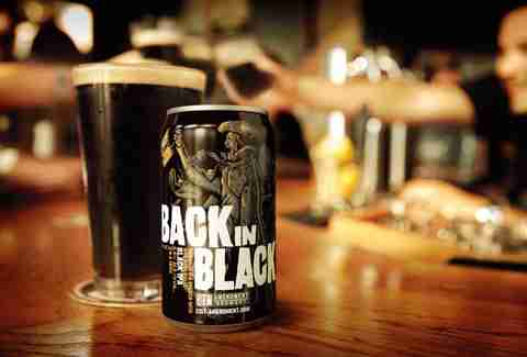 Back in Black beer