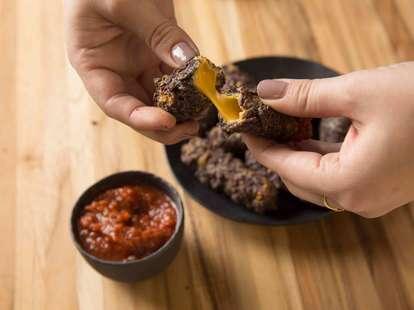 Fried queso sticks -- Thrillist Recipes