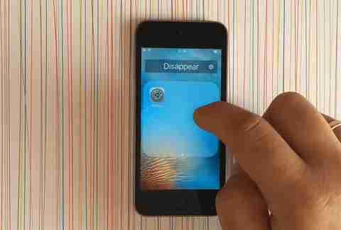 how to delete hidden app on iphone