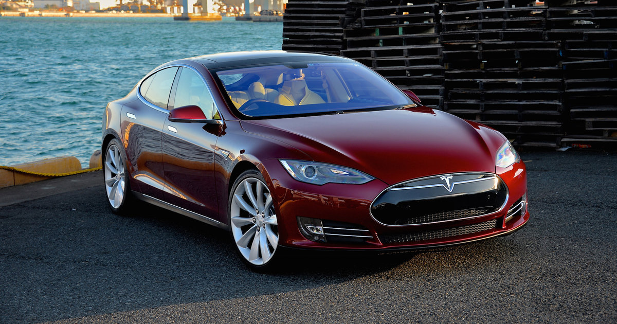 The Tesla Model S Is A Clic American Muscle Car And That Ok