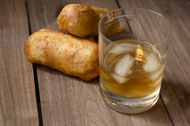 Fried Bourbon Twinkies -- Thrillist  Recipes