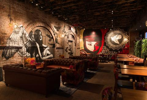 Look Inside Vandal New Bowery Restaurant Lounge From Chris Santos