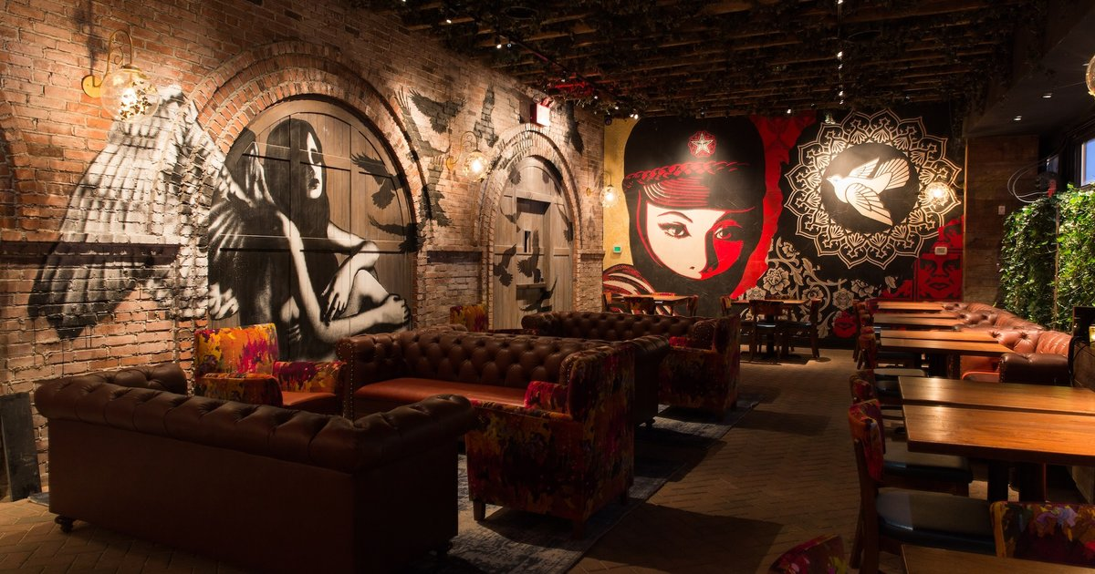Look Inside Vandal New Bowery Restaurant Lounge From