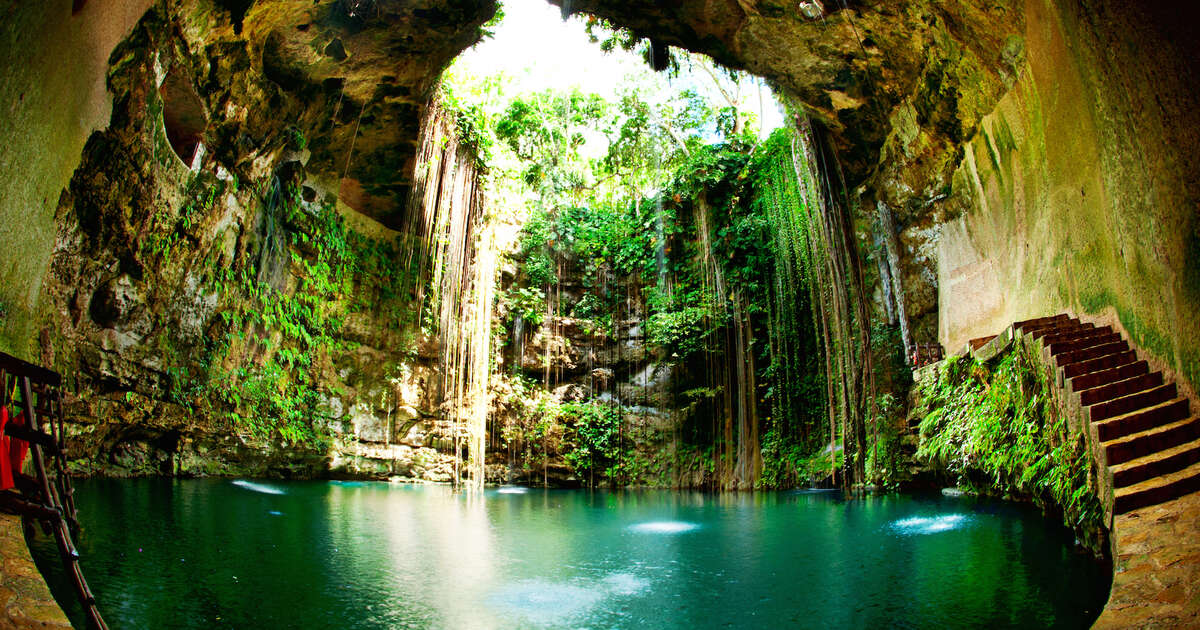 the most gorgeous mexican cenotes near cancun cozumel