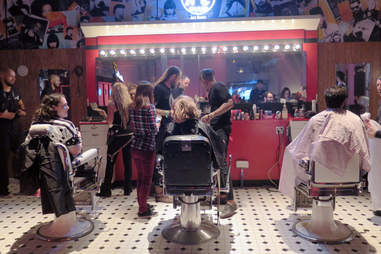 Jack Daniel's Motel No. 7 haircuts