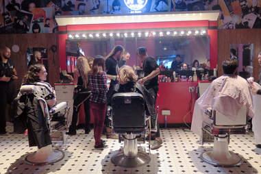 Jack Daniel's Motel 7 haircuts