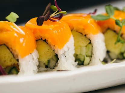 naoki sushi in chicago close up of rolls thrillist