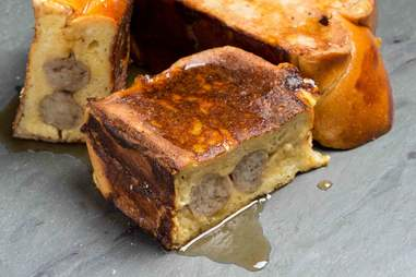 Sausage French Toast