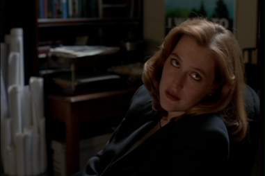 Gillian Anderson as Special Agent Dana Scully in The X-Files
