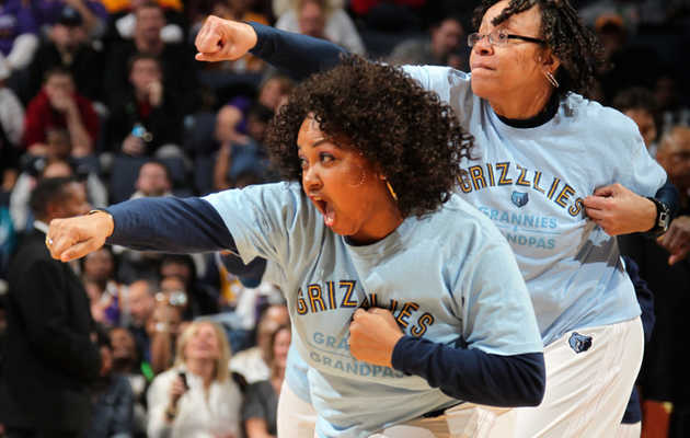 Get to Know the Memphis Grizzlies Grannies and Grandpas