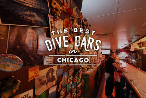 The Best Dive Bars In Chicago Thrillist - Map of dive bars in us