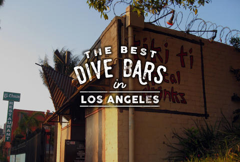 Best Dive Bars Los Angeles Thrillist - Map of dive bars in us