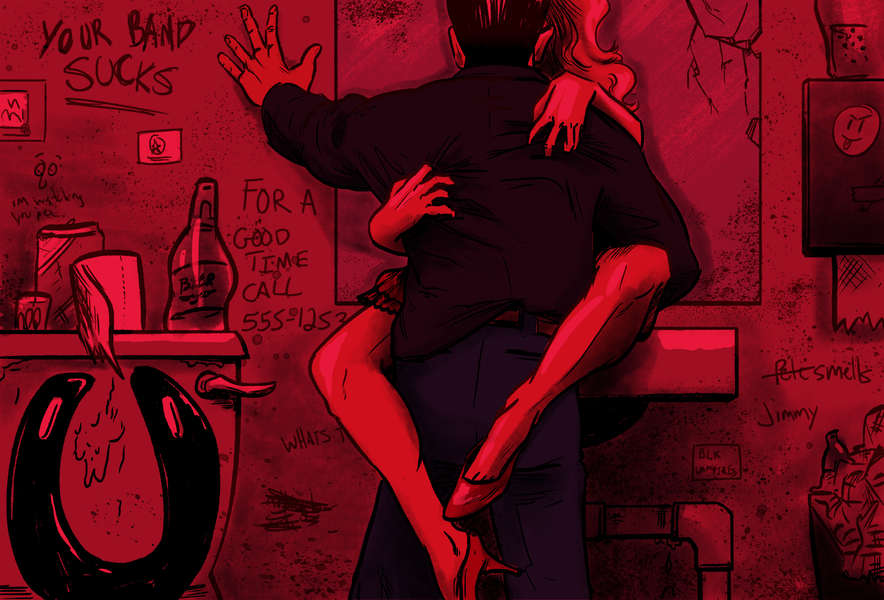 Real Stories of NYC Bar Bathroom Sex - Thrillist