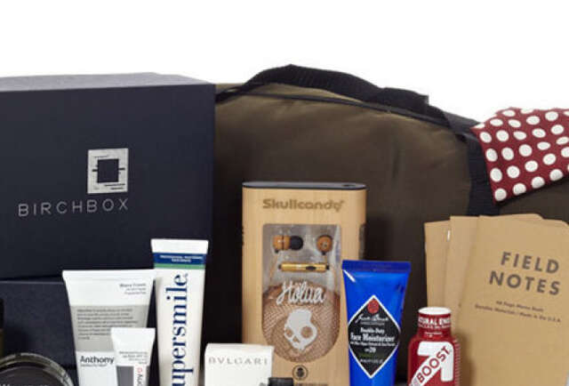 Birchbox\'s Man Box