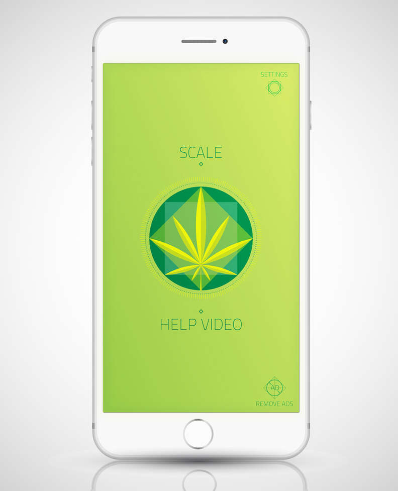 Weed Scale app