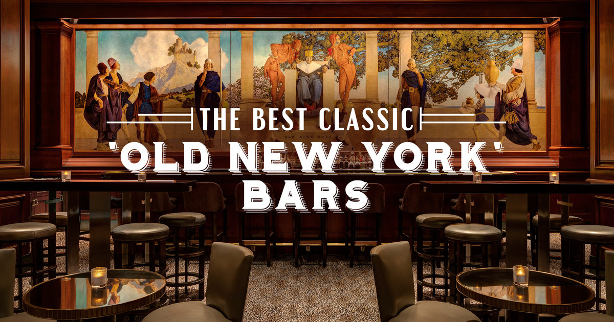 Classic New York Bars Fancy Bars In New York City