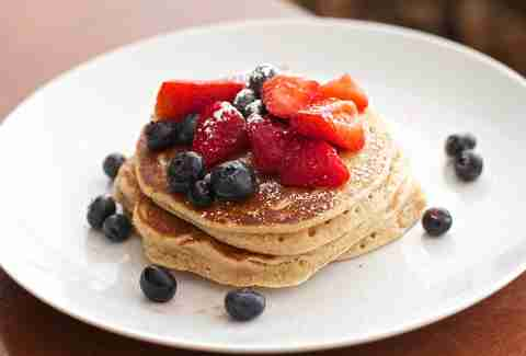 pancakes at the little owl in new york city