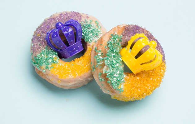 Fat Tuesday Calls for This King Cake Donut Recipe