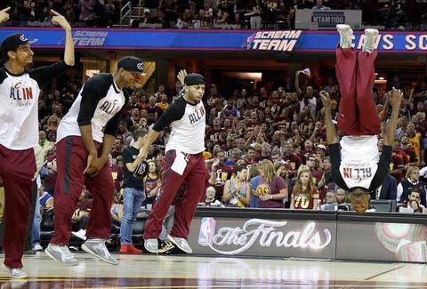 Cleveland Cavaliers Scream Team