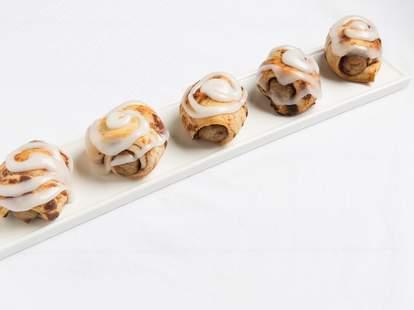 Cinnamon Roll Pigs in a Blanket -- Thrillist Recipes
