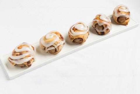 Cinnamon Roll Pigs in a Blanket -- Thrillist Recipes