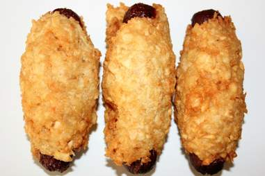 Tater tot hot dogs