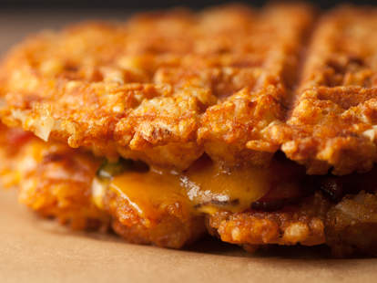Tater tot grilled cheese -- Thrillist Recipes