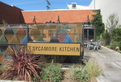 the sycamore kitchen exterior la brea