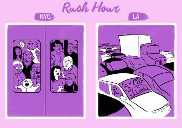 The Difference Between La And Nyc Thrillist
