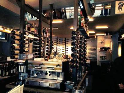 Bar Veloce wine in New York City
