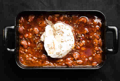 Maple sour cream chili