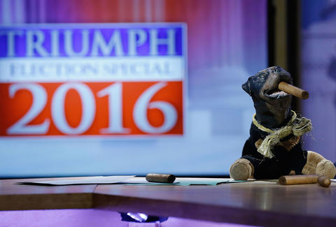 triumph's election special 2016 review - insult comic dog hulu