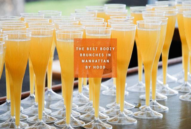 Where to Boozy Brunch in Manhattan