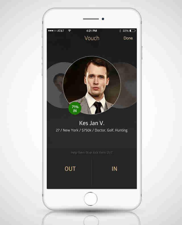 Dating app creative people