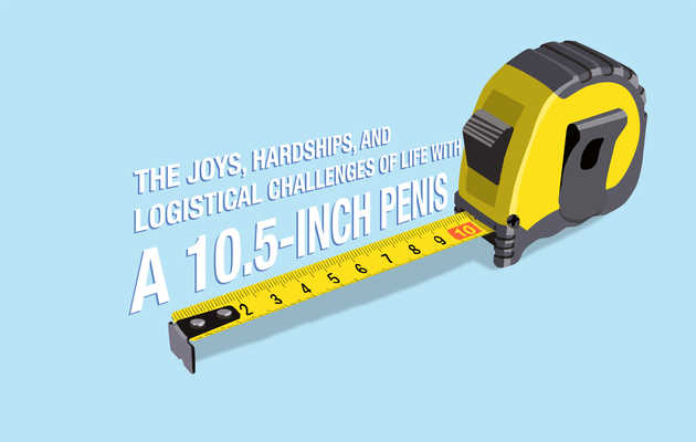 The Joys, Hardships, and Logistical Challenges of Life With a 10.5-Inch Penis