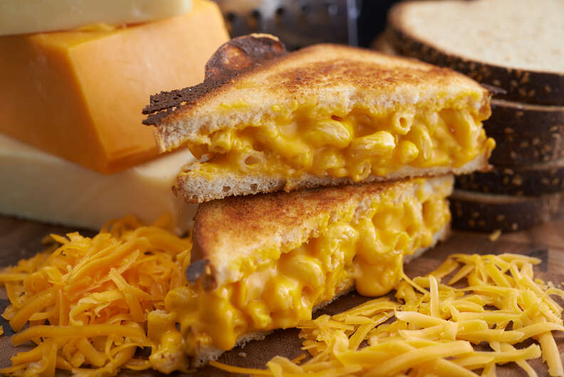 grilled cheese mac n cheese from Ms. Cheezious