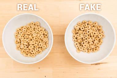 honey nut cheerios, cereal