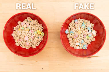 Lucky Charms, marshmallows, cereal