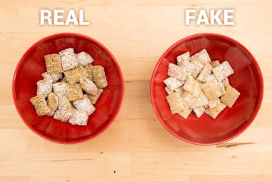 frosted mini-wheats, cereal bowls