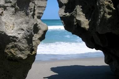 Blowing Rocks Preserve, ocean, beach, rocks
