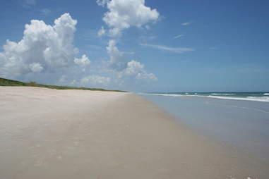 Playalinda, beach, waves