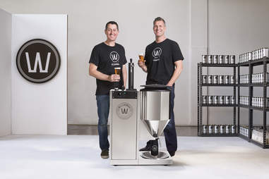 WilliamsWarn all-in-one personal brewery system from New Zealand