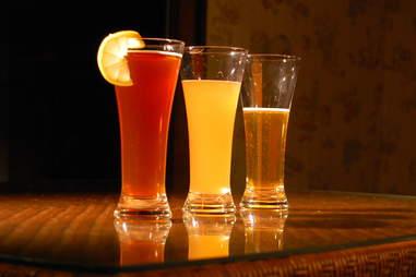 Oranges in beer