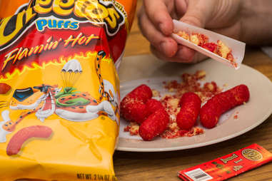 Cheetos rolled in joint