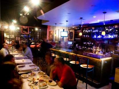 oporto wine cafe interior houston texas
