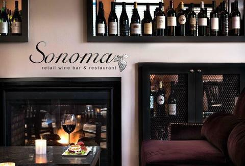 cozy wine bar houston fireplace sonoma wine