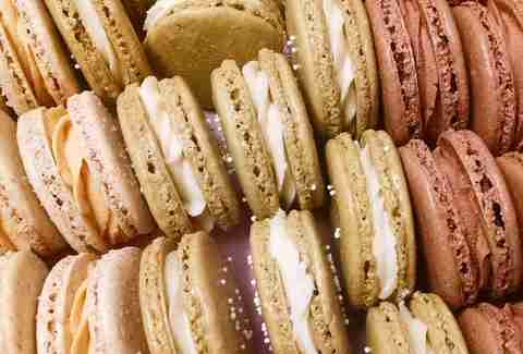 macaroons, sweets, dessert at Sweet Mary's Bakery