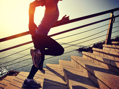 outdoor workouts, running, stairs, exercise