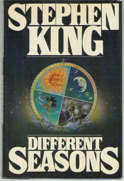 Different Seasons cover, Different Seasons book, Different Seasons Stephen King