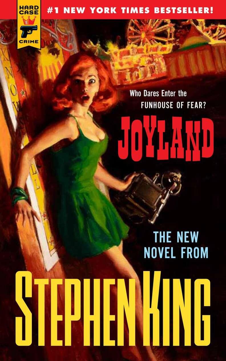 Joyland cover, Stephen King book, paperback